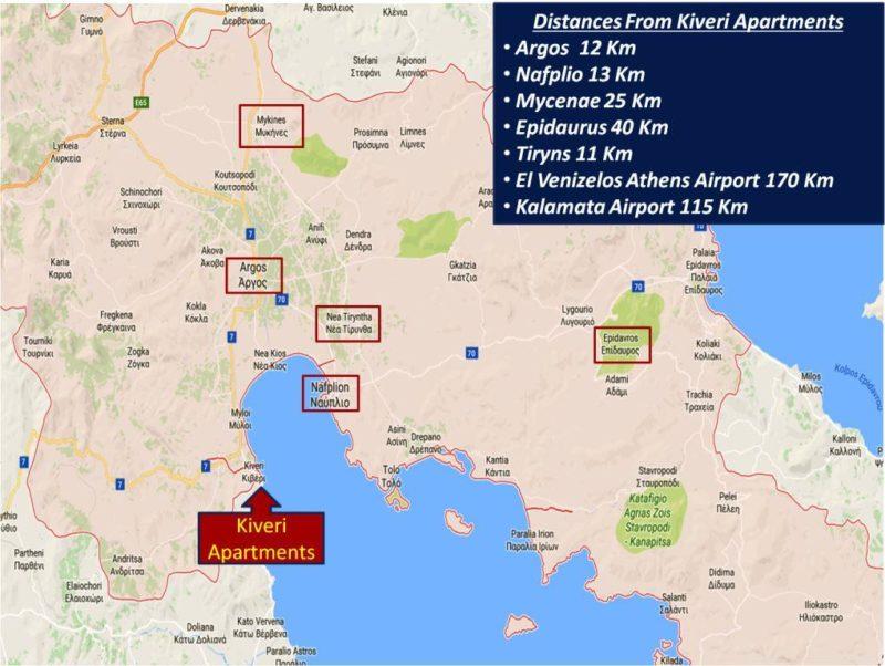 Kiveri Apartments - Kiveri-Nafplio-Argos-Mycenae-Tiryns-Epidaurus